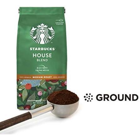قهوة مطحونه من ستاربكس ® هاوس بلند