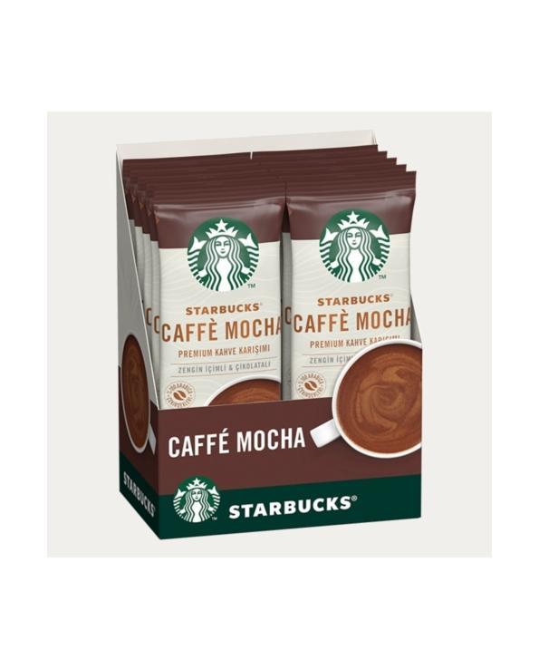 قهوة سريعة التحضير من ستاربكس كافي موكا  ( 10 ) أظرف