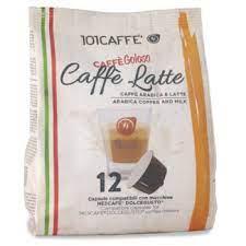 كبسولات قهوة كافي لاتية  من 101CAFFE